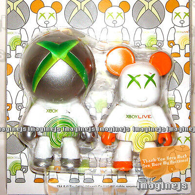 $69.99 • Buy RaRe~ TOY2R Qee XBOX 360 Live Xbox 360 Key Chain Figure Bearbrick - 2P Set