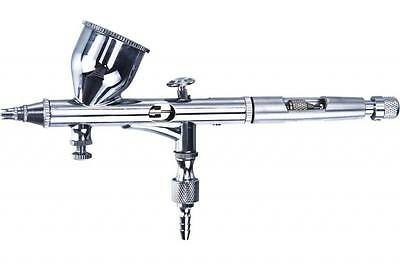 £30.11 • Buy Precision Airbrush Kit - Gravity Feed Double Action Airbrush Ab-180 - New!