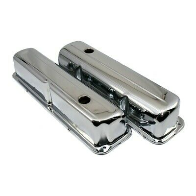 $29.99 • Buy 1957-1976 Ford FE Chrome Plated Valve Covers - 352 390 406 427 428 Big Block