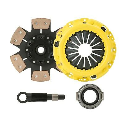 AU140.31 • Buy STAGE 3 RACING CLUTCH KIT Fits 1995-2005 ECLIPSE 2.4L NON-TURBO 4G64 By CXP