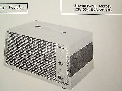 $ CDN6.05 • Buy Silvertone 238 Amplifier Photofact