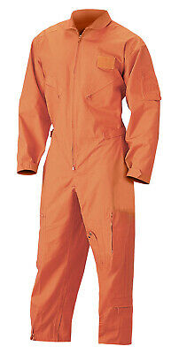 $50.99 • Buy Orange Jumpsuit Air Force Style Flightsuit Coverall Flight Suit Rothco 7415