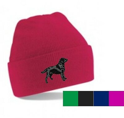 Labrador Beanie Hat Perfect Christmas Gift Embroidered By Dogmania • 9.95£