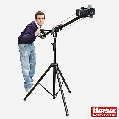 Hague Camera Crane Kit, Junior DSLR Camcorder Jib With Boom Stand & Tilt (K2WS) • 312£