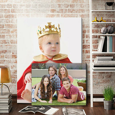 Your Photo Picture On Canvas Print A0 A1 A2 A3 A4 A5 Box Framed Ready To Hang • 9.89£