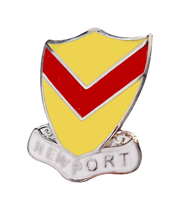 Newport City Wales Crest Small Pin Badge  • 4.50£