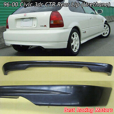 $84.99 • Buy CTR Style Rear Bumper Lip (Urethane) Fits 96-00 Honda Civic 3dr