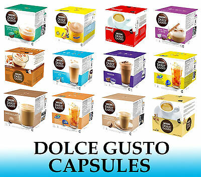 $2.77 • Buy Nescafe Dolce Gusto Capsules - Many Flavours To Choose From - Sold Loose