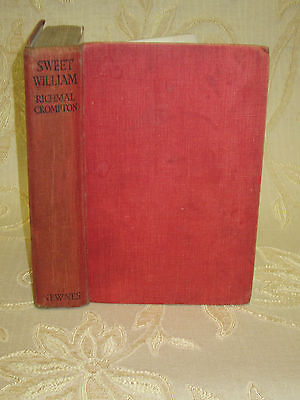 Antique Book Of  Sweet William, By Richmal Crompton - 1936 • 5.50£