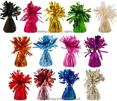 £6.95 • Buy 5 Helium Balloon Foil Tassel Table Weights Wedding Birthday Party Decorations  H