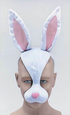 Rabbit Mask & Sound,   MASQUERADE EYE MASK, ANIMAL, FANCY DRESS • 7.50£