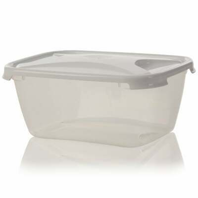 2 X Strong Plastic Food Grade Storage Container - 3.6 Litres - (WL2) • 9.49£