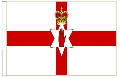 Northern Ireland Sleeved Courtesy Flag Ideal For Boats 45cm X 30cm • 4.50£