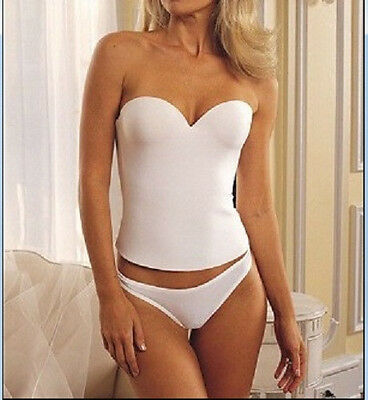 Nwt Wedding Bridal Prom Low Back Push Up Longline Bra Corset Bustier 32b-40d • 14.08£