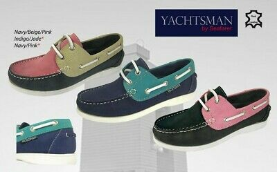 Ladies Seafarer Yachtsman Deck Shoes  FREE POST Lady Deck Shoes  Boating  BNIB • 32.95£