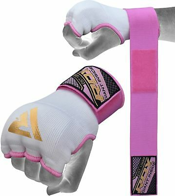 AU20.99 • Buy RDX Ladies Inner Gloves Hand Wraps MMA Boxing Bandages Martial Arts Quick Straps
