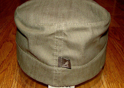 denim military cap