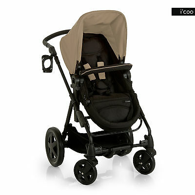 I'coo Photon Deluxe Stroller - Beige - Brand New!! Icoo • 107.81£