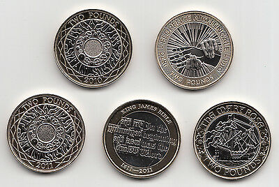 Rare Two Pound Coin £2 2009 To 2021 Choose Your Year - Brilliant Uncirculated • 8.99£