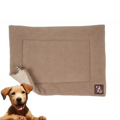 Yap Dog Cossi Dog Puppy Bed Cage Crate Liner Faux Lambs Wool Range Of Sizes New • 17.99£