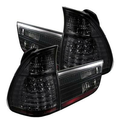 $360 • Buy Pair Smoke LED Tail Lights Lamps 4 Piece For BMW E53 X5 00-06 1 Yearr Warranty