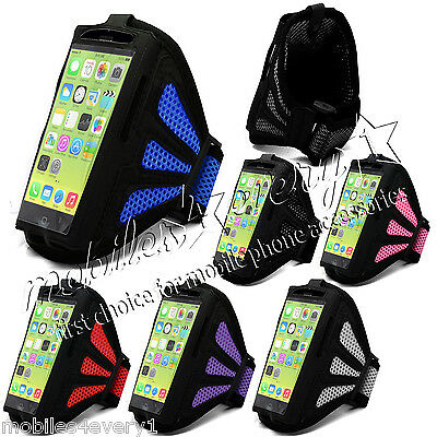 Sports Running Jogging Gym Armband Case Cover Holder For Apple IPhone • 1.99£