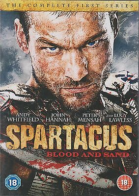 £9.99 • Buy SPARTACUS - BLOOD AND SAND - Series 1. Andy Whitfield (4xDVD SLIM BOX SET 2011)