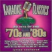 £2.23 • Buy Karaoke Classics: 70's And 80's CD (2003) Highly Rated EBay Seller Great Prices