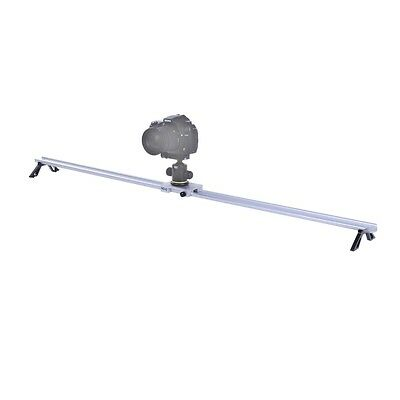 $39.95 • Buy Movo CST-120 47  Track Slider Dolly Video Stabilizer For Canon Nikon DSLR Camera