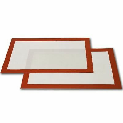 Silicone Fibreglass Non Stick Baking Mat Sheet Tray Oven Liner Rolling Cake Mat • 7.99£