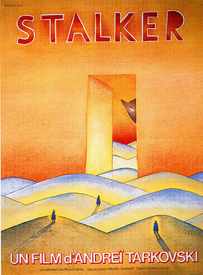 $5.49 • Buy Stalker Andrei Tarkovski Cult Movie Poster Print #11