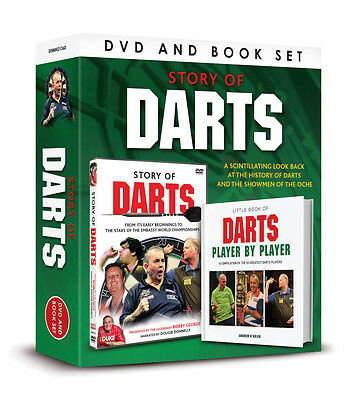 £12.99 • Buy The STORY OF DARTS DVD AND BOOK SET -LITTLE BOOK DARTS PLAYER BY PLAYER GIFT SET