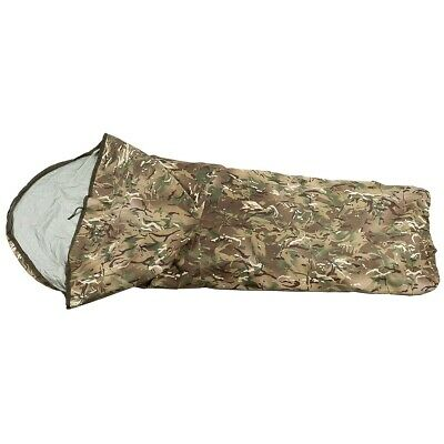NEW - Military Issue Waterproof MTP Multicam Camo Bivi Bag - Sleeping Bag Cover • 49.99£