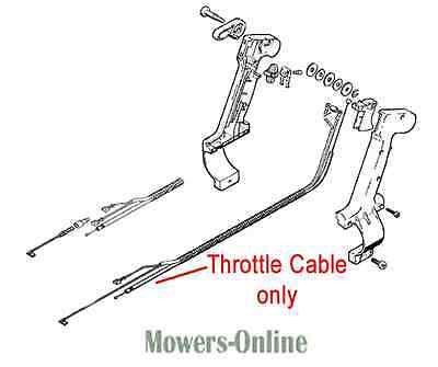 £35.92 • Buy Stihl Throttle Cable Backpack Blower 4203 180 1111 BR320 BR340 BR380 BR400 BR420