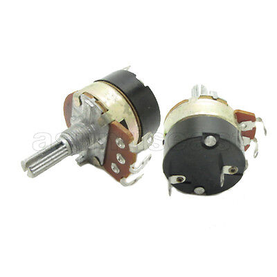 $ CDN10.47 • Buy 10x 5K Guitar Linear Taper Rotary Potentiometer Panel B5K Pot With Switch OFF ON