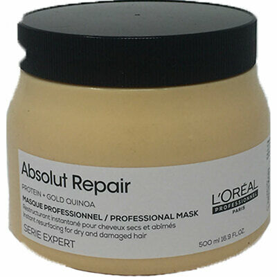 L'OREAL Professionnel Absolut Repair Gold Quinoa + Protein Masque 500ml • 18.95£