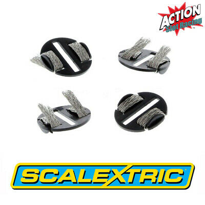 Scalextric Sport C8329 Quick-Fit Pickup Plates With Braids X 4 • 3.45£