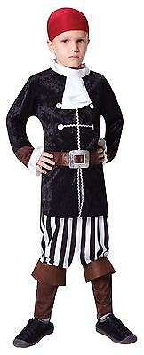 Pirate Captain, Small, Childrens Fancy Dress Costume, Kids Book Week • 6.50£