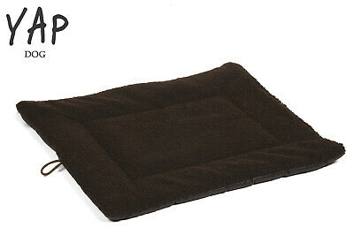Yap Roventa Brown Lambswool Dog Cat Puppy Pet Cosy Cage Mat Bed Cushion 5 Sizes  • 17.95£