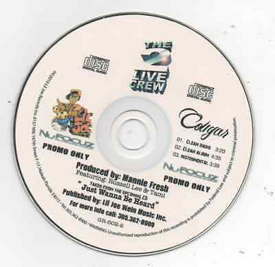 $ CDN10.66 • Buy The 2 Live Crew Cougar 2010 Limited Edition Promo CD