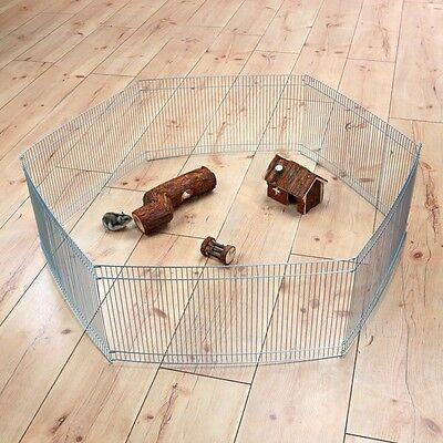 £19.99 • Buy Trixie Large Indoor Hamster Small Animal Galvanized Enclosure Play Pen Run 90x25