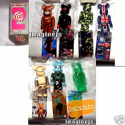 $139.99 • Buy RaRe~ Medicom Be@rbrick Bearbrick Kubrick Series 2 - 7pcs Set Figure UK FLAG