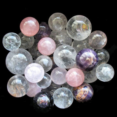 Crystal Ball Scrying Fortune Divination Future Sphere Marbles Energy Meditation • 3.79£