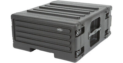 AU353.78 • Buy SKB MOLDED 4U RACK MOUNT CASE W/ WHEELS For MIXERS, EQ, EFFECTS, POWER AMPS DJ