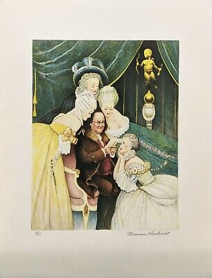 $ CDN2613.46 • Buy Norman Rockwell  Ben's Belles  1973 | Hand Signed Print | Poor Richard's Almanac