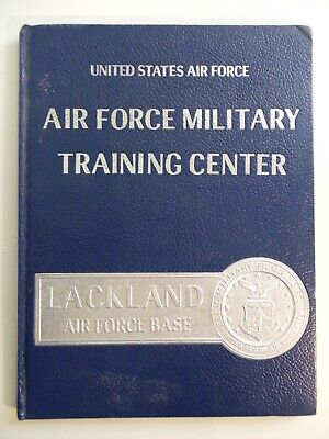 $39.95 • Buy 1985 Air Force Military Training Center Lackland YEARBOOK Squad 3711 Flight 001