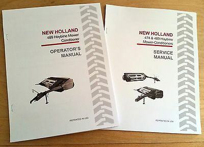 AU49.64 • Buy New Holland 489 Haybine Mower Conditioner Operator's And Service/Repair Manual
