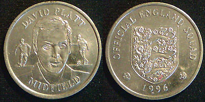 £1.45 • Buy Official England Squad 1996 Steel Medallions DISCOUNTS Up To 80% Available