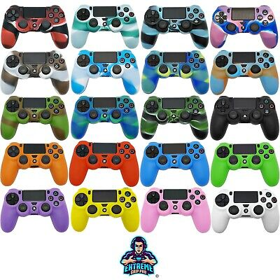 £3.99 • Buy  EGP™ Camo CASE Protect Grips Silicone Rubber Cover Skin For Sony PS4 Controller