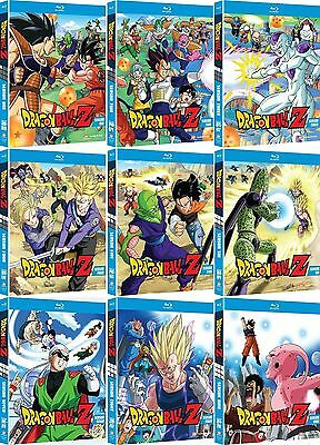 AU339.99 • Buy DRAGONBALL DRAGON BALL Z SEASON Series 1 2 3 4 5 6 7 8 9 Blu Ray SET RB 1 - 9